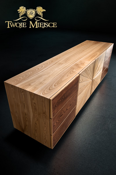 komody z litego drewna komoda g243ralska drewniane szafki