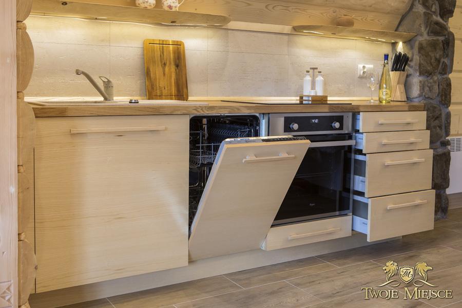meble kuchenne z litego drewna g243ralskie drewniane